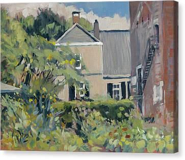 Canvas Print - Landgoed Poelwijk Gendt by Nop Briex