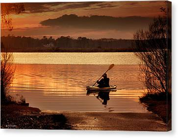 Landing Canvas Print by Phil Mancuso