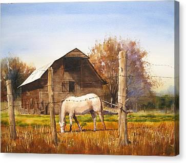 Lake Wylie Canvas Print - Landmark by Shirley Braithwaite Hunt
