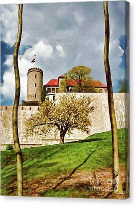 Landmark Sparrenburg Castle Canvas Print