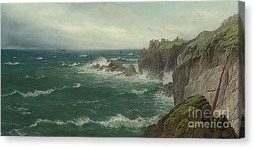 Land's End Canvas Print by Celestial Images