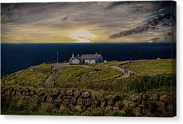 Lands End Canvas Print by Martin Newman