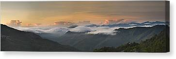 Canvas Print featuring the photograph Landscape - Panorama View by Ng Hock How