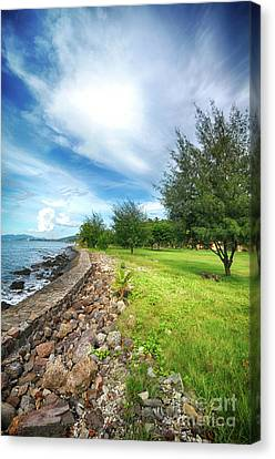 Canvas Print featuring the photograph Landscape 2 by Charuhas Images