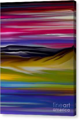 Landscape 7-11-09 Canvas Print by David Lane