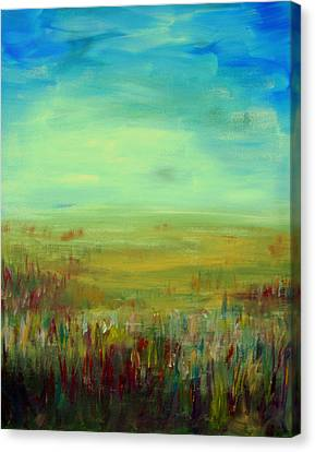 Landscape Abstract Canvas Print by Julie Lueders
