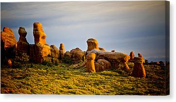 Landscape Arch 2 Canvas Print by Mickey Clausen