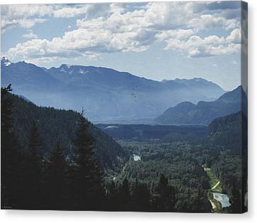 Landscape Art - Morning In The Valley Canvas Print by Jordan Blackstone