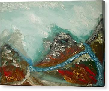 Landscape. Fantasy 19-2. Canvas Print