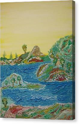 Landscape. Fantasy 28. Canvas Print
