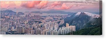 Tsui Canvas Print - Landscape For Hong Kong City by Anek Suwannaphoom