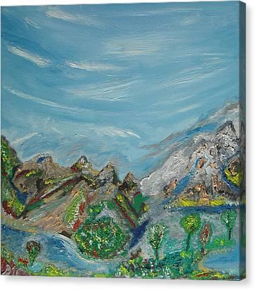 Landscape. Imagination. Canvas Print