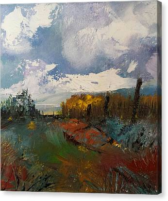 Landscape Impression Canvas Print