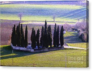 Canvas Print featuring the photograph Landscape by Jean Bernard Roussilhe