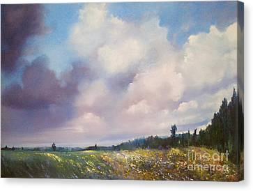 Landscape Canvas Print by Maja Sokolowska