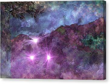 Landscape Mist Canvas Print by Dorothy Berry-Lound