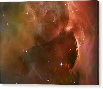 Landscape Orion Nebula Canvas Print by Jennifer Rondinelli Reilly - Fine Art Photography