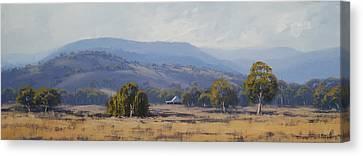 Landscape Paintings Canvas Print by Graham Gercken