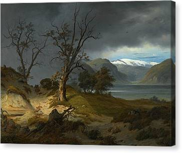 Fearnley Canvas Print - Landscape by Thomas Fearnley