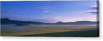 Landscape With Mountains Canvas Print by Panoramic Images
