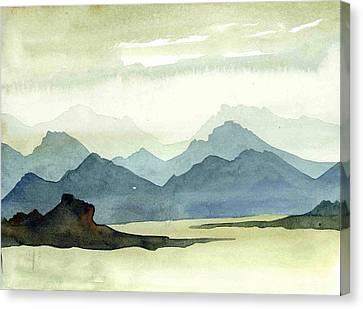 Landscape09-1 Canvas Print by Padamvir Singh