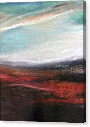 Landslide Canvas Print
