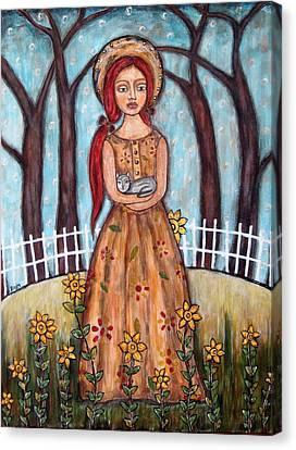 Laney Canvas Print by Rain Ririn