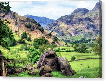 Langdale - Lake District Canvas Print by Joana Kruse