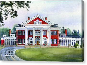 Langdon Hall Canvas Print by Hanne Lore Koehler