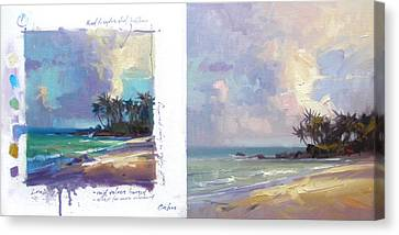 Laniakea Studies Canvas Print