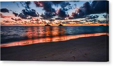 Lanikai Beach Canvas Print by RC Pics