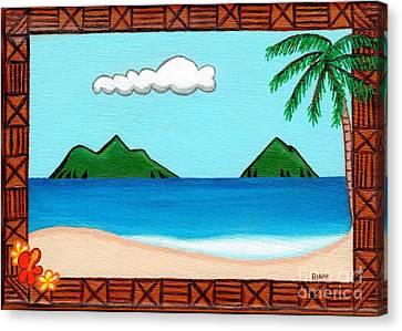 Lanikai Canvas Print by Paula Hipp