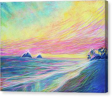 Lanikai Sunrise Canvas Print