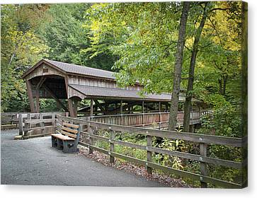 Lanterman's Mill Covered Bridge Canvas Print