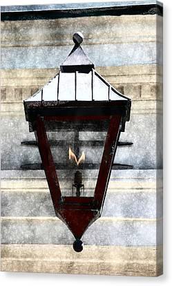 Lantern 13 Canvas Print by Donna Bentley