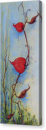 Lanterns Canvas Print by Dawn Broom