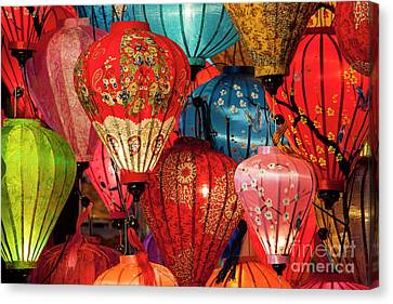 Lanterns Canvas Print by Timm Chapman