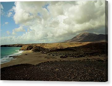 Lanzarote Canvas Print - Lanzarote by Cambion Art