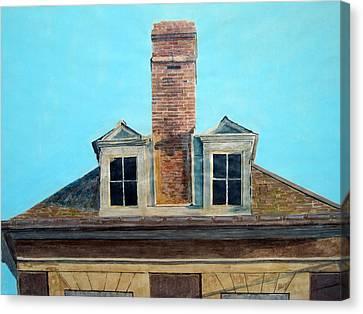 Laon Windows Canvas Print