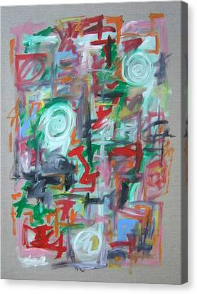 Large Abstract No 2 Canvas Print by Michael Henderson