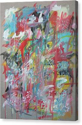 Large Abstract No 3 Canvas Print by Michael Henderson