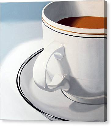 Daily Painter Canvas Print - Large Coffee Cup by Mark Webster
