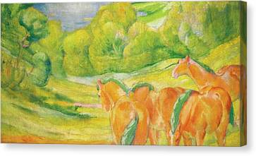 Large Landscape Canvas Print by Franz