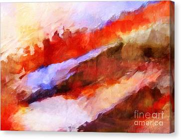 Large Motion Canvas Print by Lutz Baar