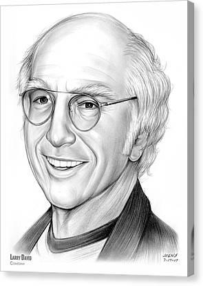 Larry David Canvas Print