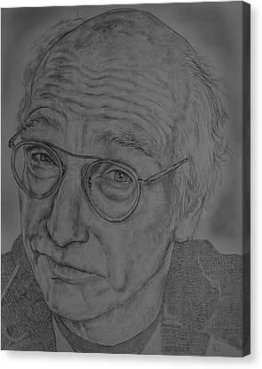 Larry David Canvas Print by Harrison Larsen