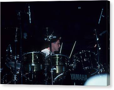 Larry Mullen, Jr. Of U2 Canvas Print by Rich Fuscia