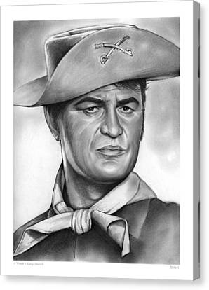 Larry Storch Canvas Print by Greg Joens