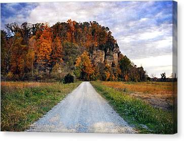 Larue Pine Hills 1 Canvas Print by Marty Koch