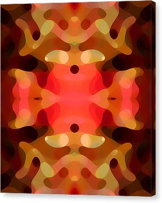 Las Tunas Abstract Pattern Canvas Print by Amy Vangsgard